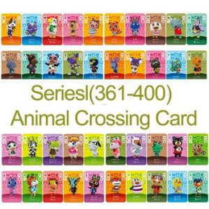 English version Amiibo Card NS Game Series 4 (361 to 400) Animal Crossing Card Work for