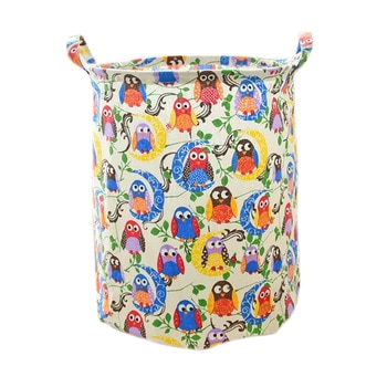 Free shipping Storage Basket  35*45CM Laundry Basket for Baby Toy Panier Rangement