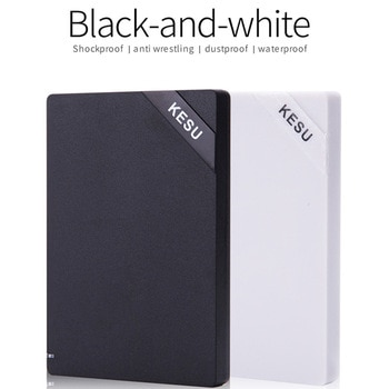 KESU 2.5'' External Hard Drive USB3.0 120GB 160GB 250GB 320GB 500GB 1TB HDD External HD Hard Disk for laptops & desktop Udma