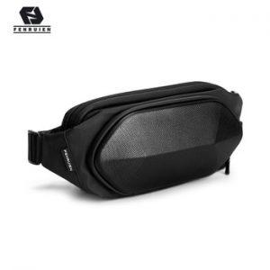 Fenruien Multifunction Crossbody Bags Men Chest Bag Short Trip Water Repellent Shoulder Bag Male Casual Messengers Bag 2020 New