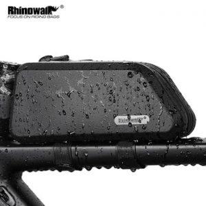 Rhinowalk 1.5L Waterproof Top Tube Bicycle Bag Hard Shell Bike Bag Stable Cycling Frame Bag Bike Accessories for  Road bike