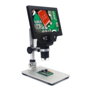 KKMOON G1200 12MP 1-1200X Digital Microscope for Soldering Electronic 500X 1000X Microscopes Continuous Amplification Magnifier