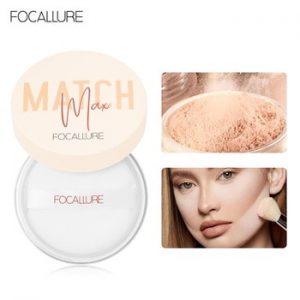 FOCALLURE Maximum Oil-Control Face Powder 4 colors Loose Powder for face Waterproof Lightweight Matte Finish Makeup