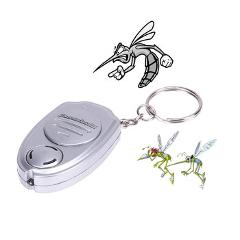 Mini Mosquito Repeller Ultrasonic Mosquito Repeller Killer Pest Bug Repellent Insect Keychain Pest Control