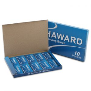 HAWARD Double Edge Shaving Blade 5/10/30/50 Pieces Safety Razor Blade For Hair Removal Very Sharp Imported Stainless Steel