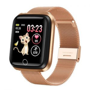 2020 New Women Smart watches Waterproof Sports For Iphone phone Smartwatch Heart Rate Monitor Blood Pressure Functions For kid