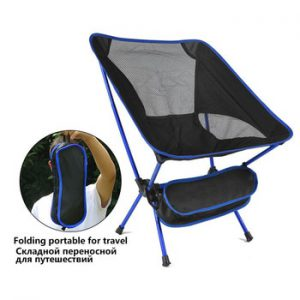 Travel Ultralight Folding Chair Weight Heavy Duty Foldable Beach Portable Beach Hiking Picnic Seat Fishing Tools Chair Seat