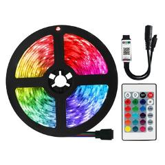 RGB LED Strip 12V Lights Bluetooth WiFi Luces Led DC 5050 SMD2835 Flexible Waterproof Tape Diode Remote Control Light For Room