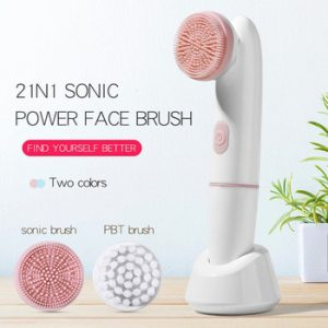 Rotate the Electric Cleaning Brush The Facial Spa System Can Deeply Clean and Remove Blackheads Deep Cleansing Beauty Tools