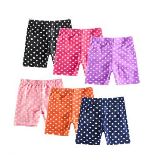 Cotton Kids Girls Shorts Pants for 3-10 Years Children Underpants Anti-fade fashion shorts Girls Boxer Briefs Short Beach Pants