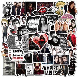 10/30/50pcs/Pack American TV Series The Vampire Diaries Stickers Luggage Skateboard Guitar laptop Cool Graffiti Sticker Kids Toy