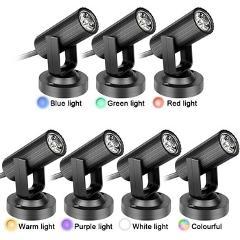 1W AC 85-265V LED Beam Light Spotlight Lamp Effect Stage Lighting for KTV DJ Bar Music Disco LED Beam Light Spotlight Lamp Light