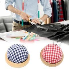 1PC Needle Pincushions Ball Shaped DIY Craft Needle Pin Cushion Needle Holder DIY Cross Stitch Embroidery Sewing Tools