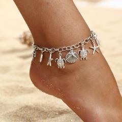 New Chain Anklets Female Barefoot Sandals Foot Jewelry Anklets Bracelets For Women Summer Anklets