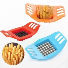 Stainless Steel Potato Cutter French Fry Cutter Potato Vegetable Slicer Chopper Kitchen Accessories Kitchen Tools Gadgets