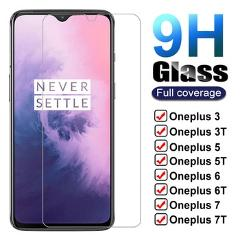 9H Tempered Glass For Oneplus 7 7T 6T 5T 6 5 3T 3 1+7 1+6 Screen Protector One Plus 7 Oneplus7 6 T 7T Protective Glass Film Case