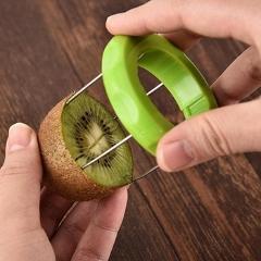 Mini Fruit Kiwi Cutter Peeler Slicer Kiwi Pitaya Peeling Tools Kitchen Gadgets Kitchen Tools  Kiwi peeling tools