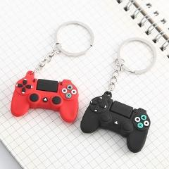 1Pcs Game Controller Joystick Controller Cartoon PS4 Games Console Keychain Childhood Exquisite Bag Hanging Keyring Gift