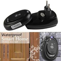36 Songs Wireless Remote Control Door Bell 100M Range Waterproof Intelligent Doorbell Transmitter Receiver EU Plug