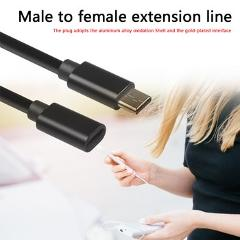 Type-C Male to Female Extension Cable Practical Multi-functional Durable USB 3.1 Extending Data Charging Connector