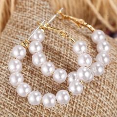 MINHIN 2020 Multi Styles Overside Pearl Earrings For Women Wedding Charming Trendy Earrings Brinco Statement Jewelry