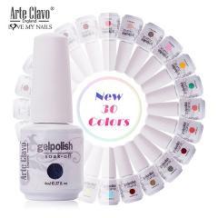 Arte Clavo New 115 Colors 8ml Painting Nail Gel Varnish Gel Nail Polish Set Manicure Top Base Coat Hybird Design Nail Art Primer