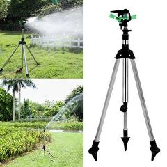 Adjustable Garden Plant Watering Telescopic Tripod Sprinkler Irrigation Kit