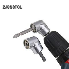 ZJCOSTOL Hex Bit 105 Degree Angle Screwdriver Socket Holder Adapter Adjustable Bits Drill Bit Angle Screw Driver Tool Socket