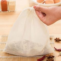 23*21 CM Kitchen Cooking Supplies Cotton Drawstring Filter Pockets Soup Filter Bags
