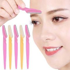 10pcs Eyebrow Trimmer Portable Eyebrow Razor Shaver Eye Brow Shaper Face Razor Facial Hair Remover for Women Beauty Makeup Tools